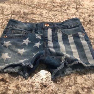 Girl's Flag Shorts
